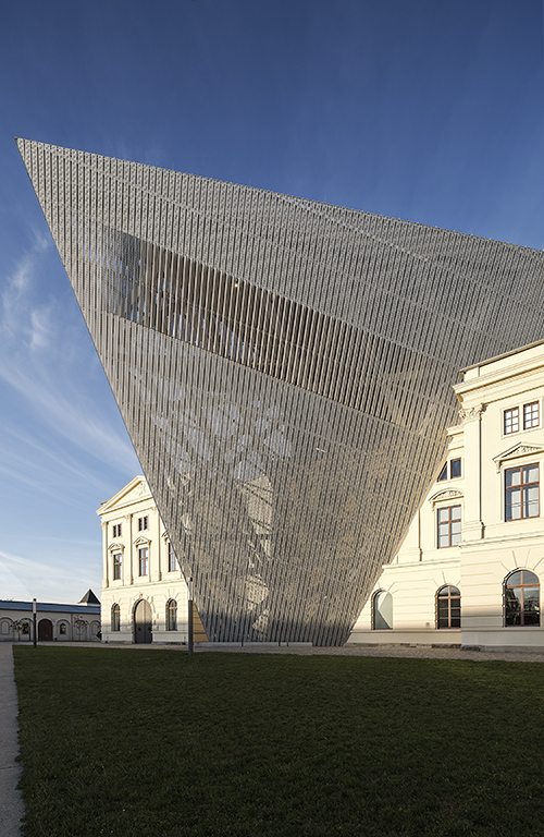 Architekturfotograf Ken Wagner in Dresden, Militärmuseum Dresden