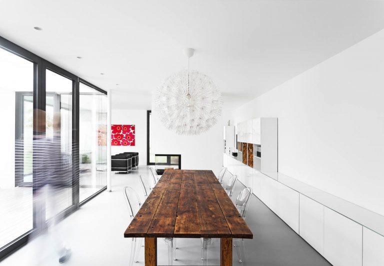 Architekturfotograf Ken Wagner Steimle Architekten aus Stuttgart, Esszimmer
