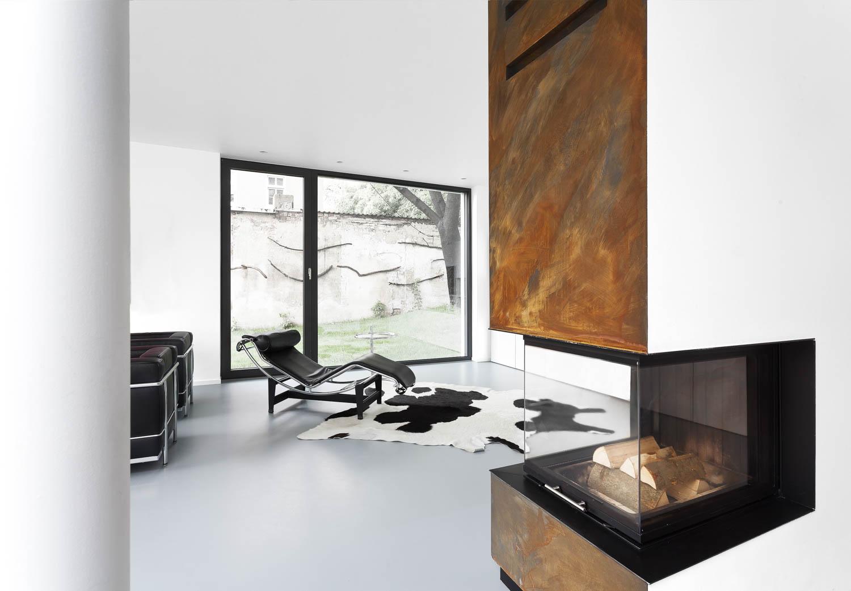 Architekturfotograf Ken Wagner Steimle Architekten aus Stuttgart, Wohnzimmer