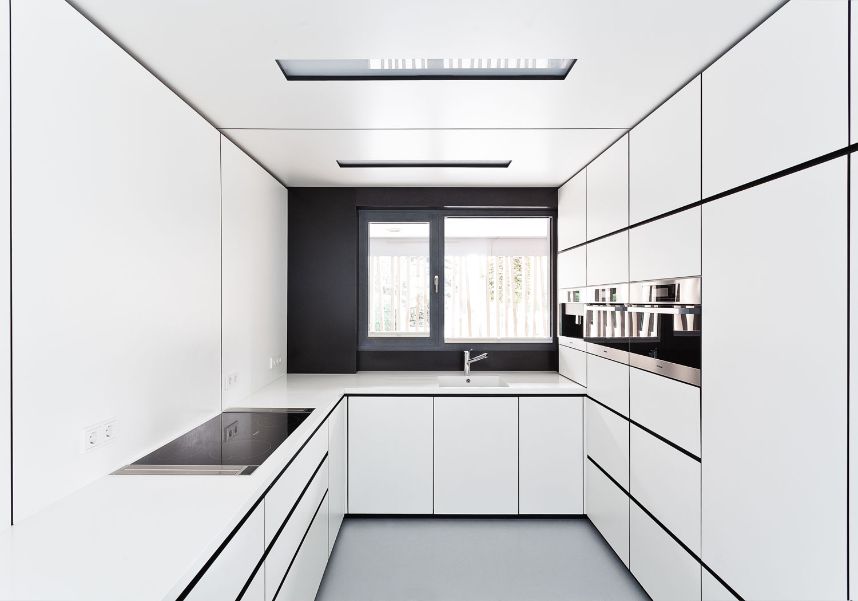 Architekturfotograf Ken Wagner Steimle Architekten aus Stuttgart, Küche