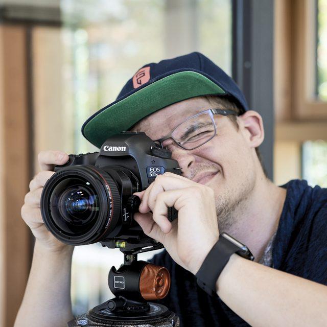 Making of von Ken Wagner als Architekturfotograf