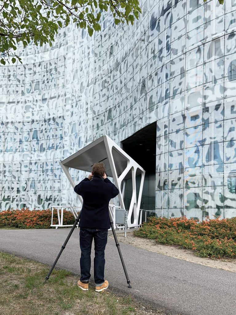 Making of von Ken Wagner als Architekturfotograf