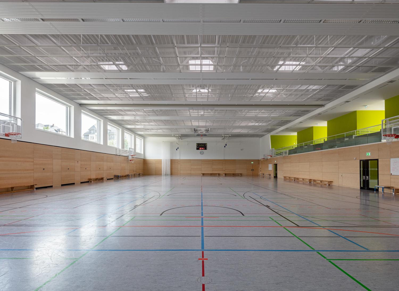 Architekturfotograf Ken Wagner in Dresden, Entdeckerschule in Chemnitz Turnhalle