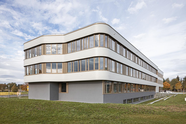 Architekturfotografie von der Beruflichen Gymnasium in Bad Krozingen