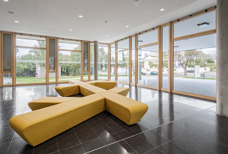 Interiorfotografie und Foyer von einer Beruflichen Gymnasium in Bad Krozingen