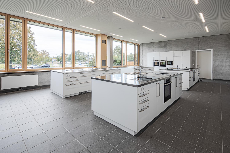 Interiorfotografie und Küche von einer Beruflichen Gymnasium in Bad Krozingen