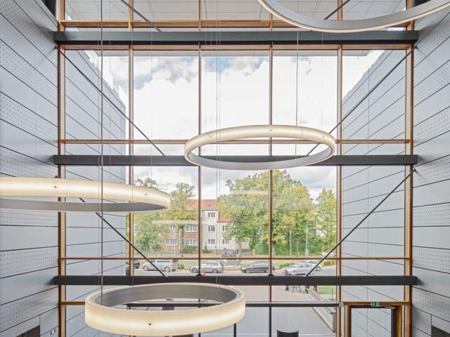 Architekturfotograf für die Firma Batimet Ken Wagner Carl Thiem Klinik Lichtdesign