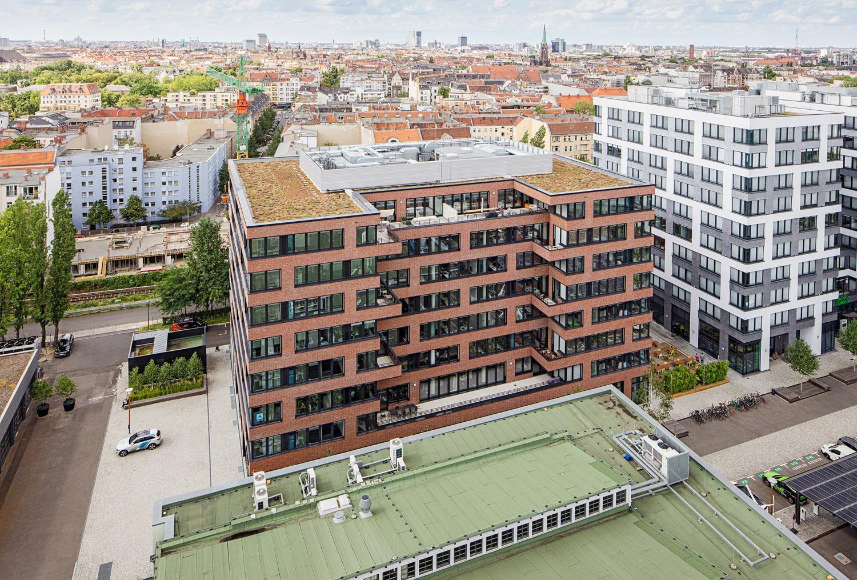 Euref Campus in Berlin, Architekturfotograf Ken Wagner