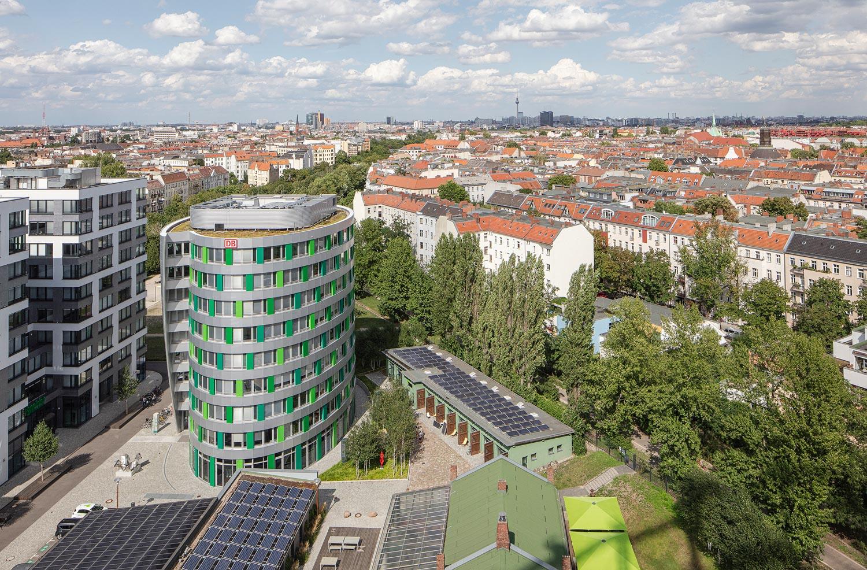 Euref Campus in Berlin Architekturfotograf Ken Wagner