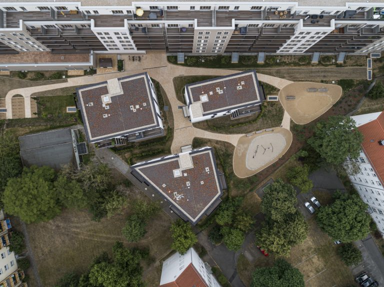 Luftbild Drohnenfotografie in Dresden