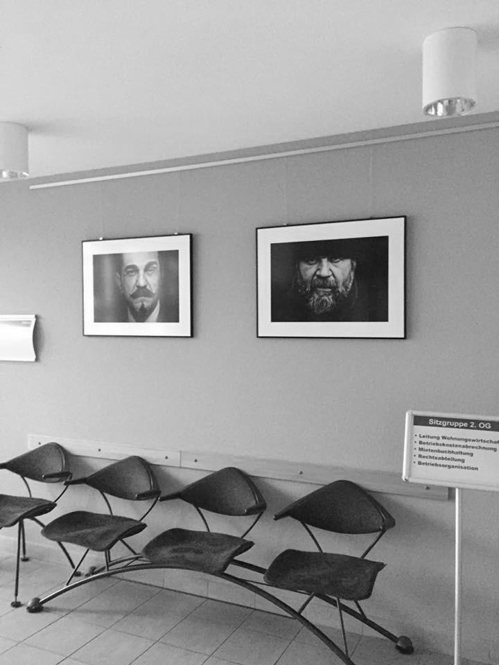 Fotoprojekt Mensch Sein, Ken Wagner Ausstellung