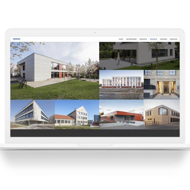 Webseite von Ken Wagner mit Architekturfotografien von Ken Wagner