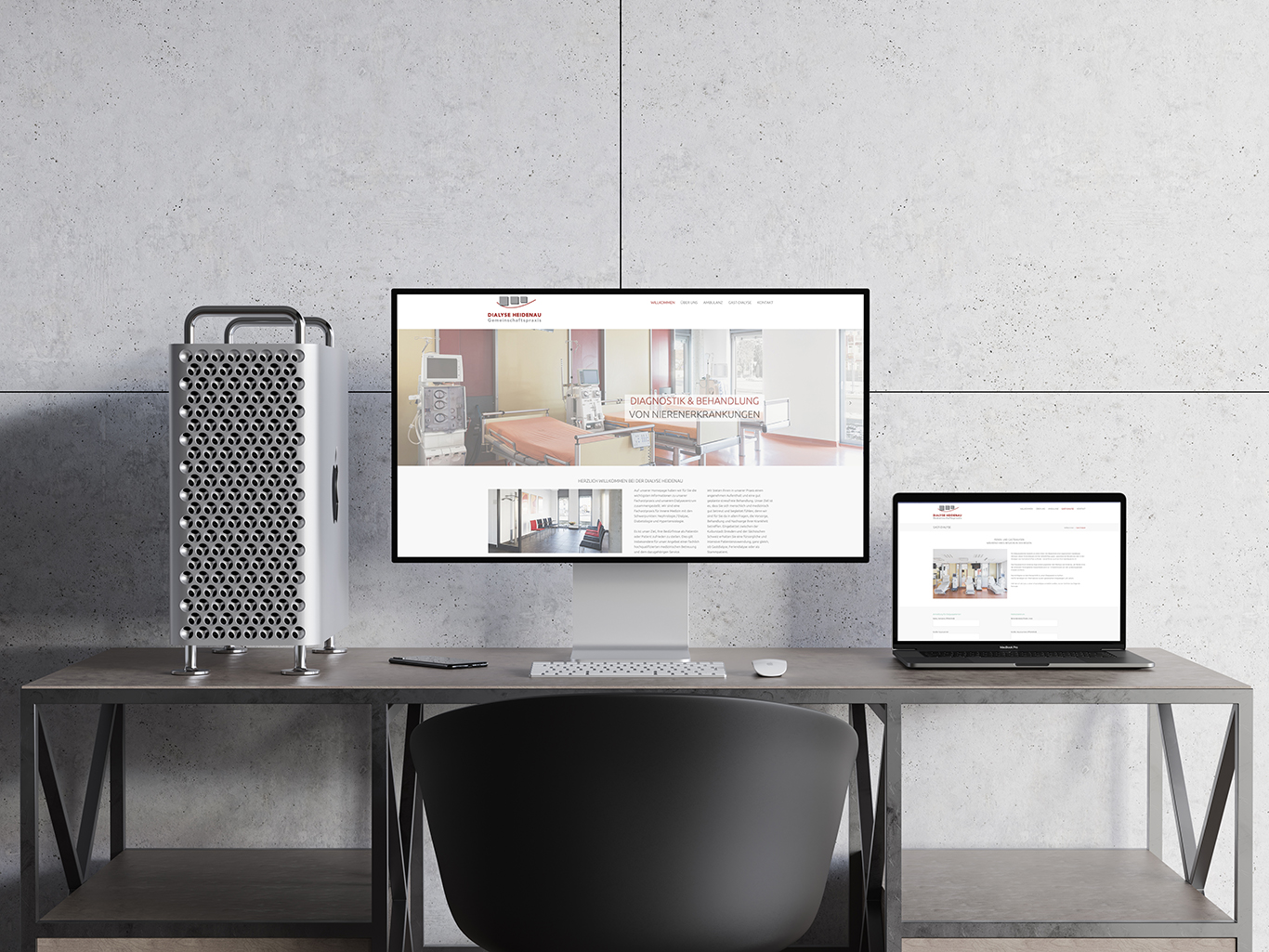 Dialyse Außenaufnahme Architekturfotografie