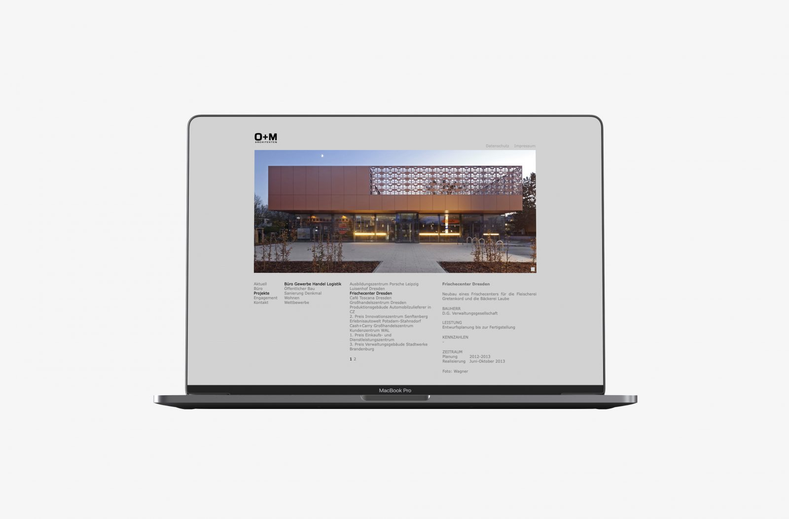 Publikation O+M Architekten