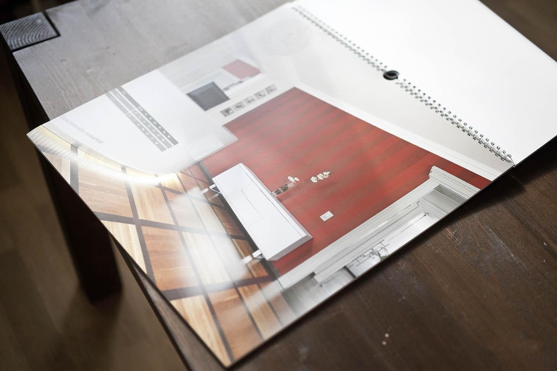Veröffentlichung Architektenkammer Dresden Kalender Ken Wagner
