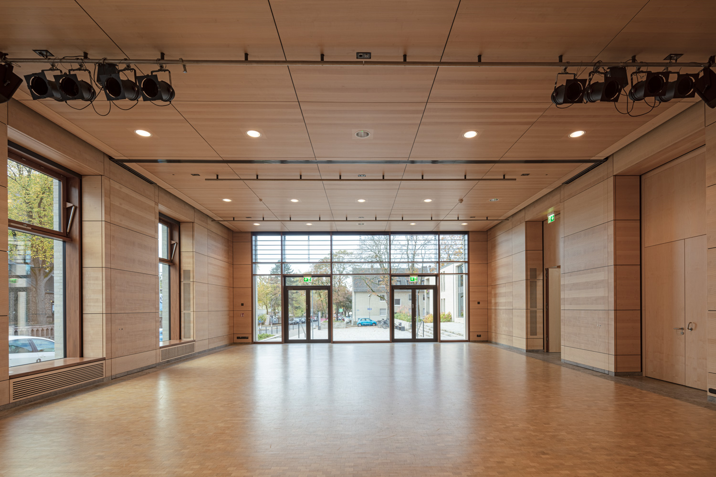 Architekturfotografie für Batimet in Köln St Rochus Aula