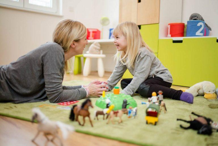 Immobilienfotografie mit Menschen Kinderzimmer in Dresden