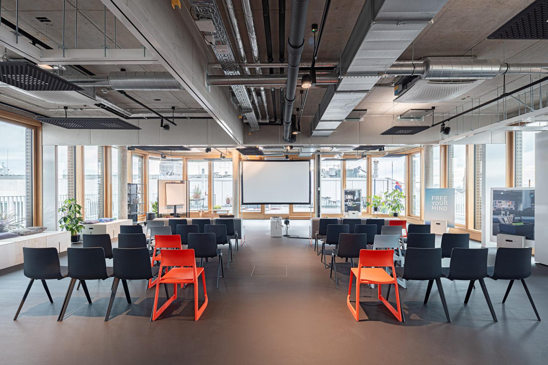 Architekturfotografie für Batimet, Meeting Mediapark Design Office in Köln Mediapark Design Office