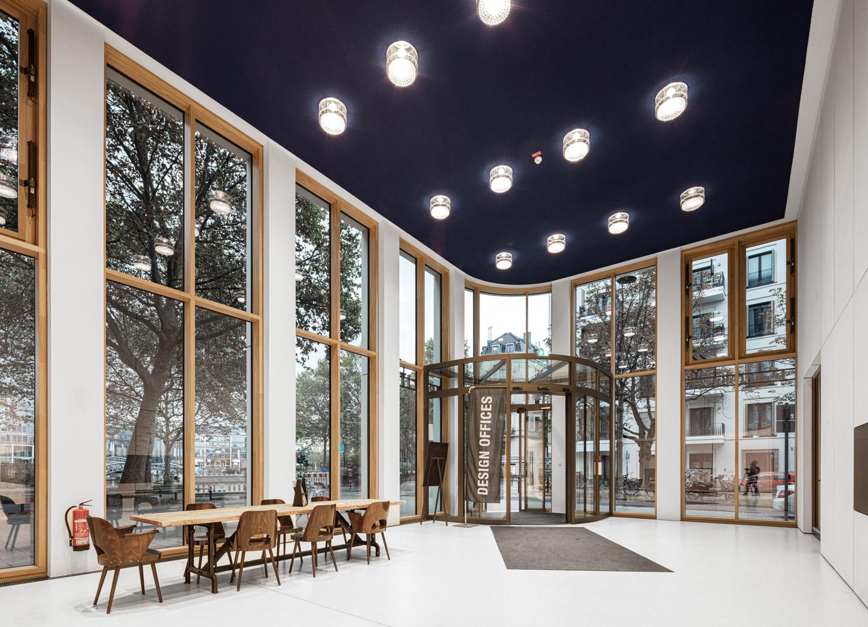 Architekturfotografie für Batimet, Foyer im Mediapark Design Office in Köln Mediapark Design Office