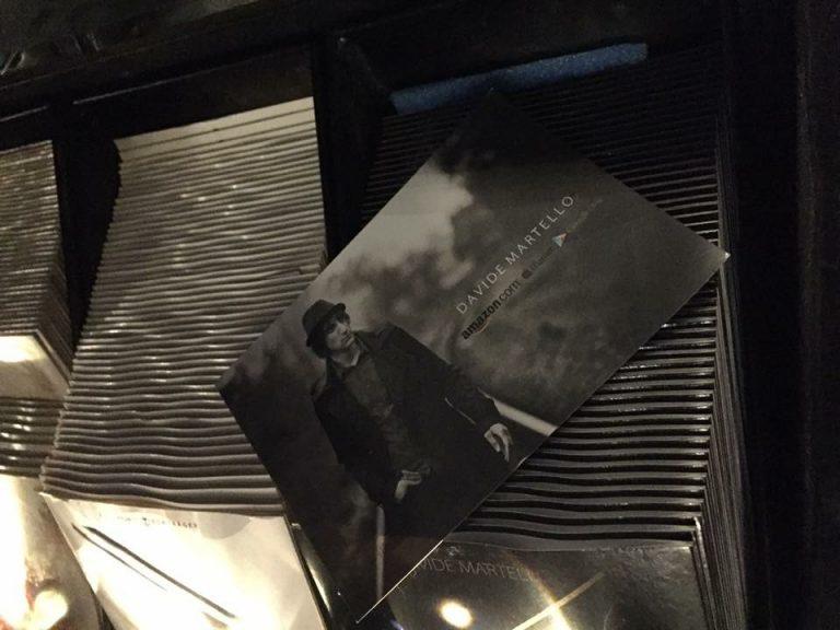 CD Cover von Davide Martello Klavierkunst