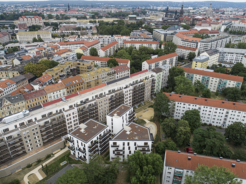 Immobilienfotografie Drohnenfotografie in Dresden