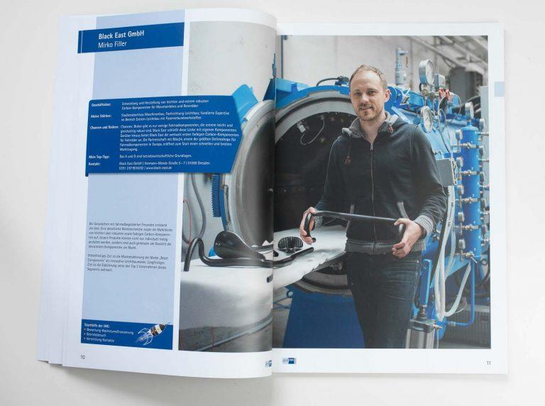 Veröffentlichung IHK Dresden Broschüre Businessfotograf Ken Wagner