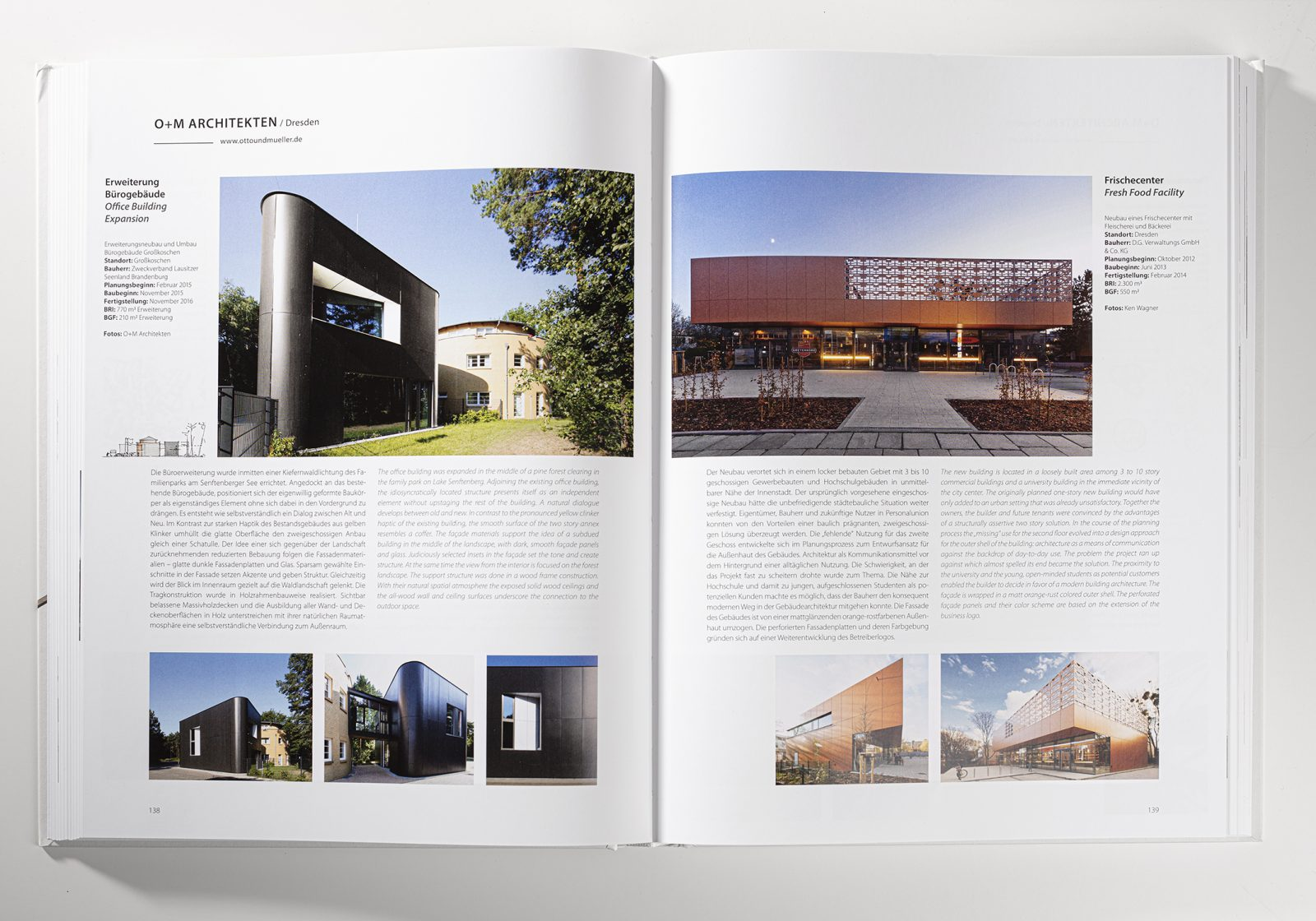 Veröffentlichung Junge Beiträge zur Architektur Architekt: O+M Dresden, Fotograf Wagner
