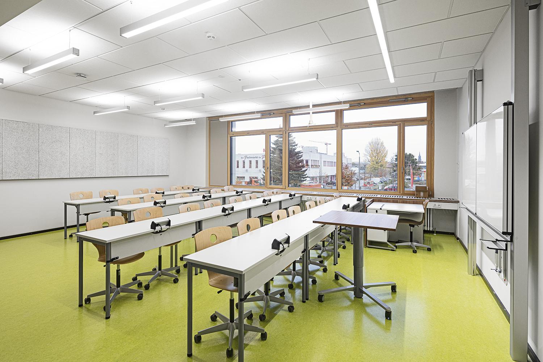 Klassenzimmer vom Gymnasium Pieschen