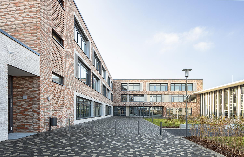 Pausenhof Gymnasium