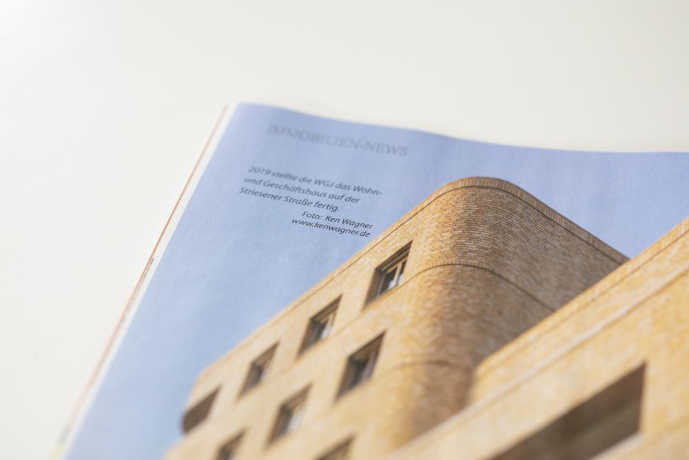 Publikation als Architekturfotograf Neubauhaus in Dresden