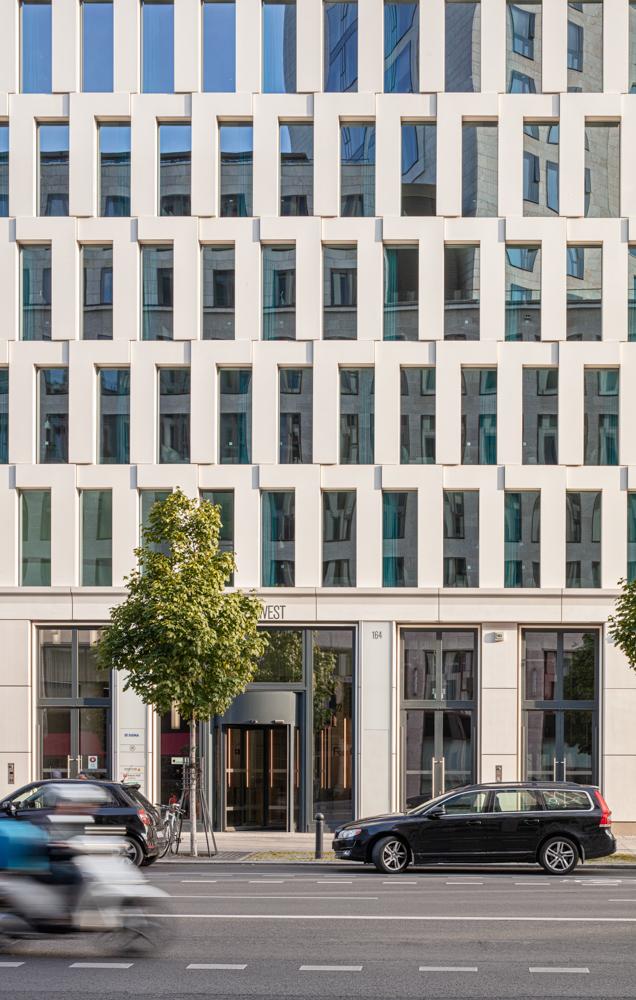 Upperwest am Kurfürstendamm Eingang- Upperwest am Kurfürstendamm - KSP Jürgen Engel Architekten Architekturfotograf Berlin