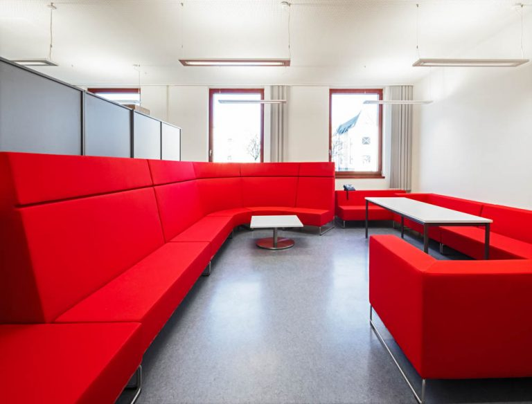 Gerda Tora Schule Leipzig Architekturfotograf Ken Wagner Alten Architekten Fensterfassade Lehrerzimmer