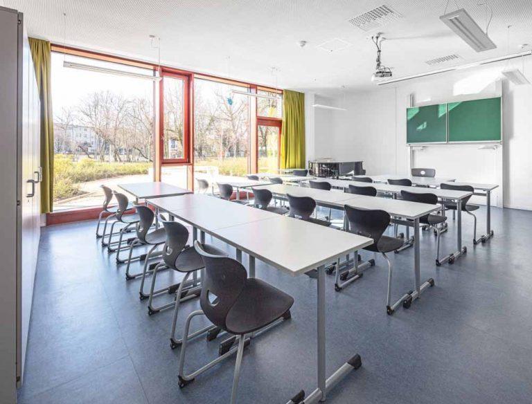 Gerda Tora Schule Leipzig Architekturfotograf Ken Wagner Alten Architekten Fensterfassade