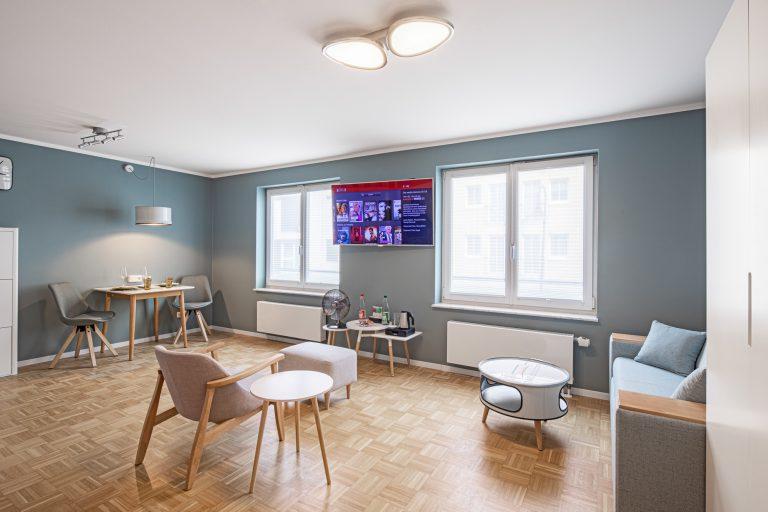 AIRBNB Wohnung Dresden - Interiorfotografie Ken Wagner - Wohnzimmer