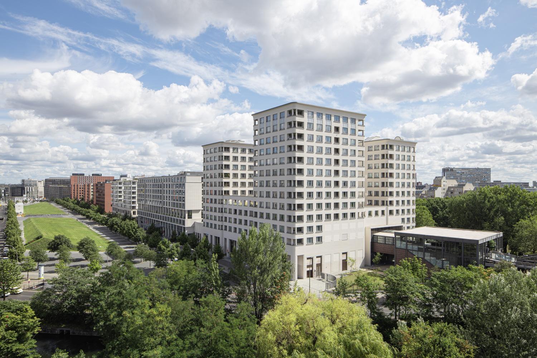 Aussicht vom Hotel - high Park Berlin am Potsdamer Platz - Architekturfotografie Ken Wagner