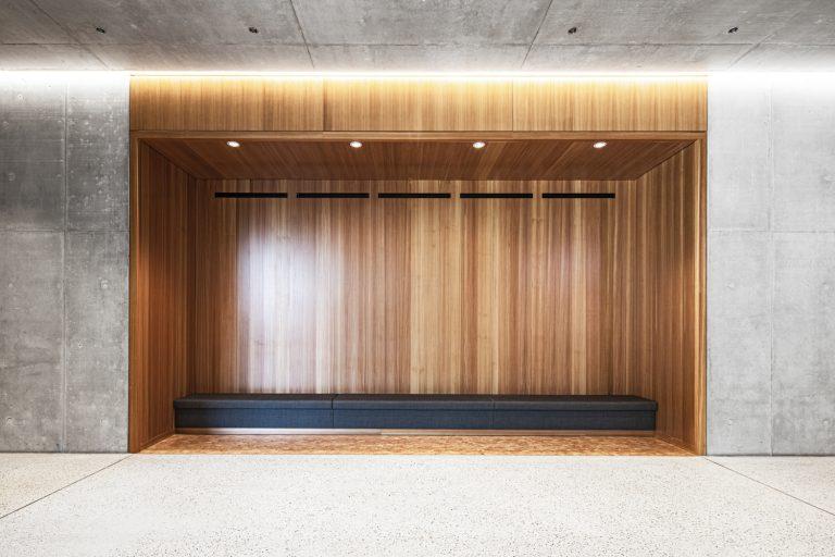 W&W Gruppe Campus Architekturfotografie Ludwigsburg Ken Wagner Innenarchitektur