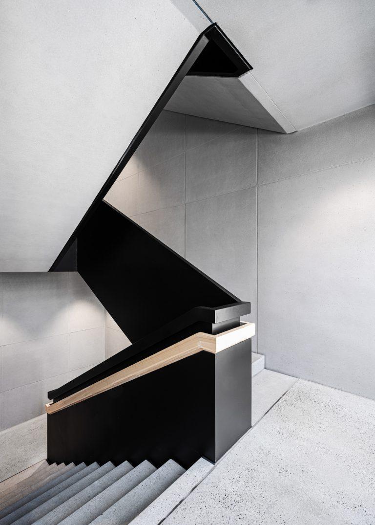 W&W Gruppe Campus Architekturfotografie Ludwigsburg Ken Wagner Innenarchitekturfotografie Treppenhaus