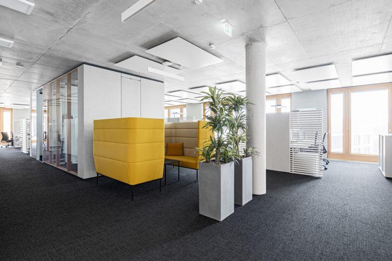 W&W Gruppe Campus Architekturfotografie Ludwigsburg Ken Wagner Innenarchitekturfotografie