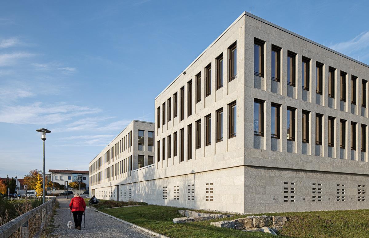 Südseite Amtsgericht Günzburg bei München