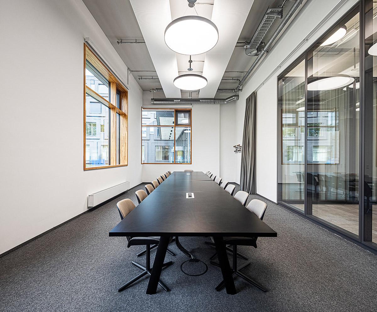 Meetingraum Arri München Headquater, Architekturbüro Hoffmann und Amtsberg, Architekturfotograf Ken Wagner
