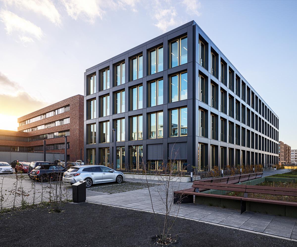 Handwerkerhaus Bremen Überseestadt Architekturfotograf Ken Wagner, Fensterbau Müller Essen, Batimet, Opitz Neuruppin