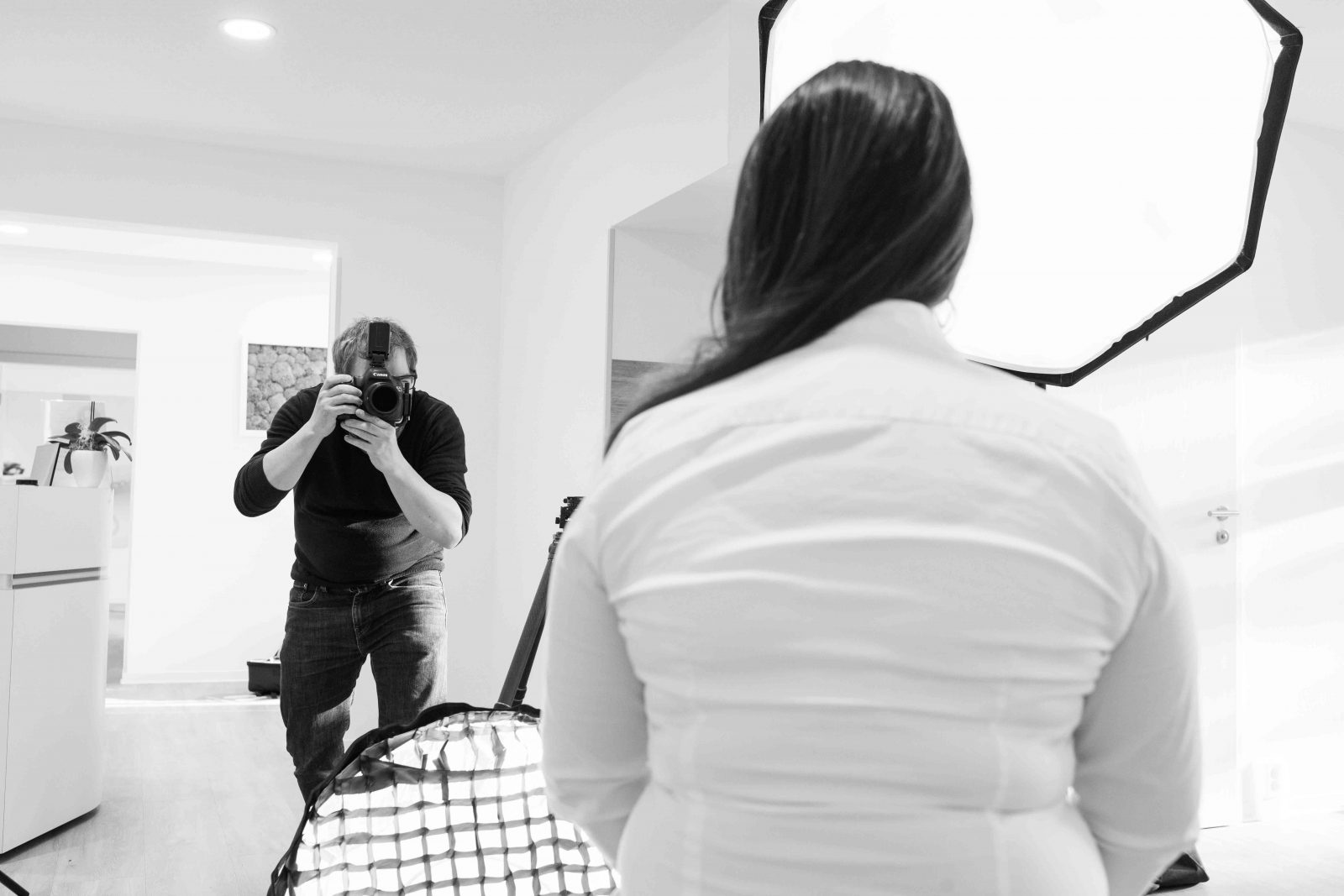 Making of - Architekturfotograf - Arca Swiss Cube - Interiorfotografie