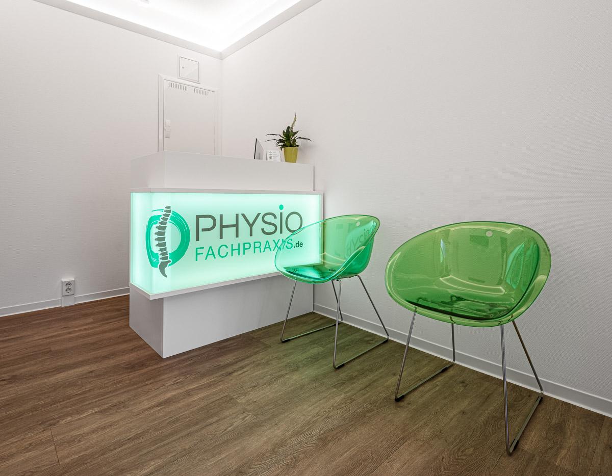 Physiotherapiefachpraxis Heynold auf der Breitenauer Straße  - Lichtmänner GmbH -Behandlungsraum1