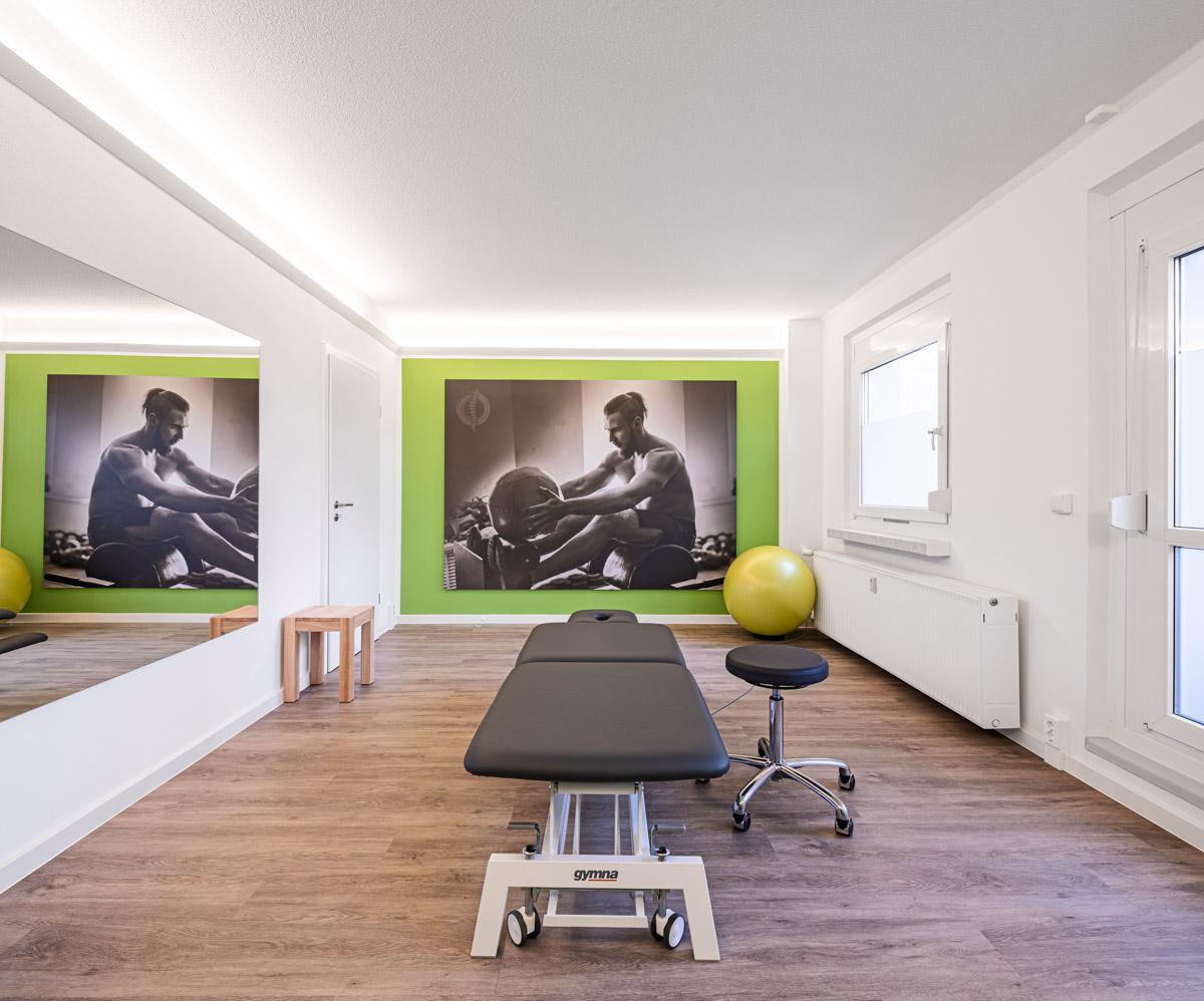 Physiotherapie Heynold auf der Breitenauer Straße  - Lichtmänner GmbH -Physiotherapiefachpraxis