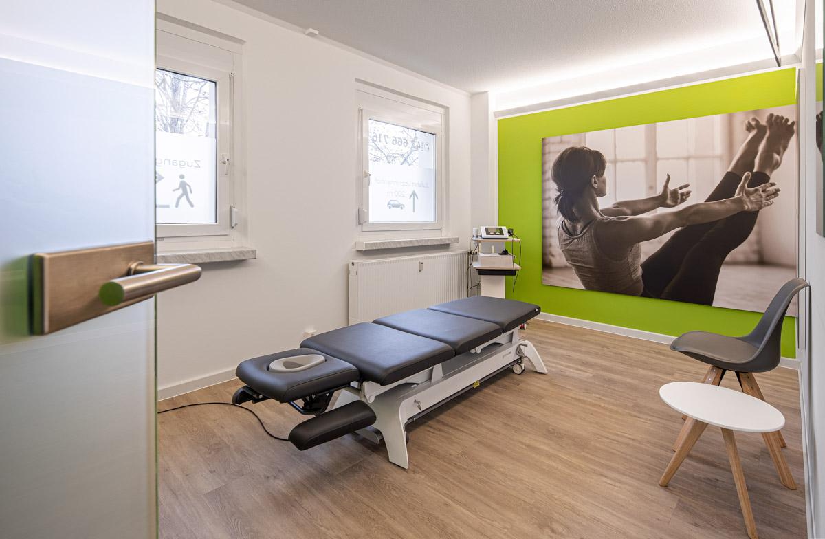 Physiotherapiefachpraxis Heynold auf der Papsdorfer Straße - Lichtmänner GmbH -Behandlungsraum1