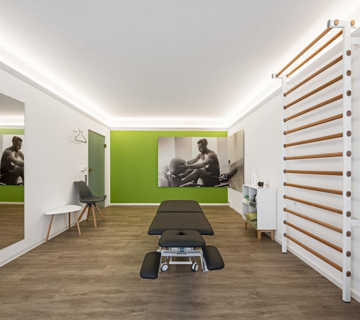 Physiotherapiefachpraxis Heynold auf der Papsdorfer Straße - Lichtmänner GmbH - Sportraum