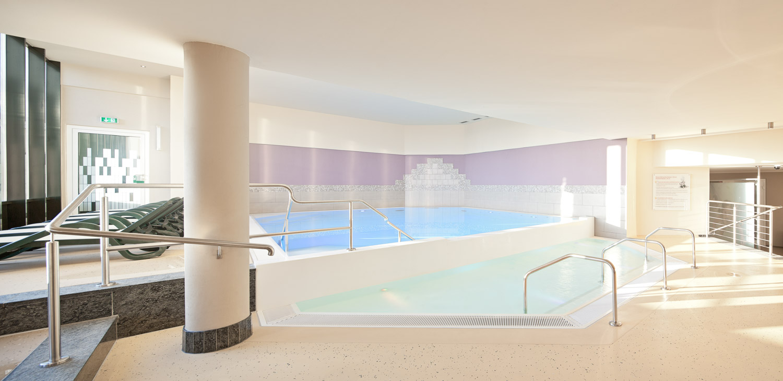 Hotelbad in Heringsdorf - Schwimmbadfotografie