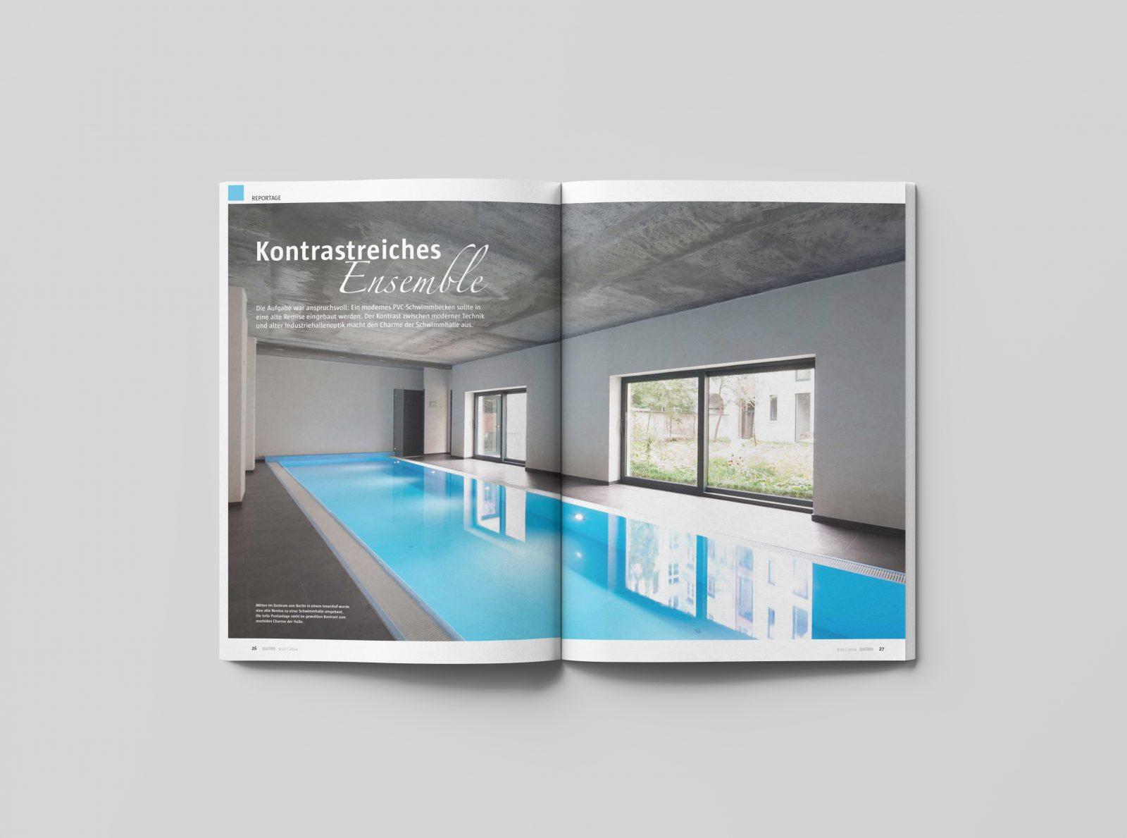 Hütel & Mess Ospa Schwimmbadtechnik Schwimmbadfotografie Ken Wagner Pool